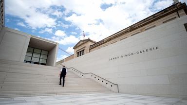Eroffnung Der James Simon Galerie Auf Der Museumsinsel Berlin 3sat Mediathek